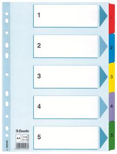 Muovikielirekisteri 1-5, 20 srj/pak, 100160