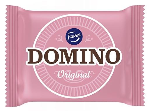 Domino Original 13g kaakaotäytekeksi vaniljanmakuisella täytteellä, 100 kpl/pkt