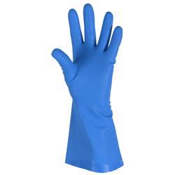 Nitriilikäsineet ABENA 9/L nukaton, sininen