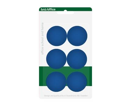 Magneetti 30 mm Sininen 6 kpl/pkt