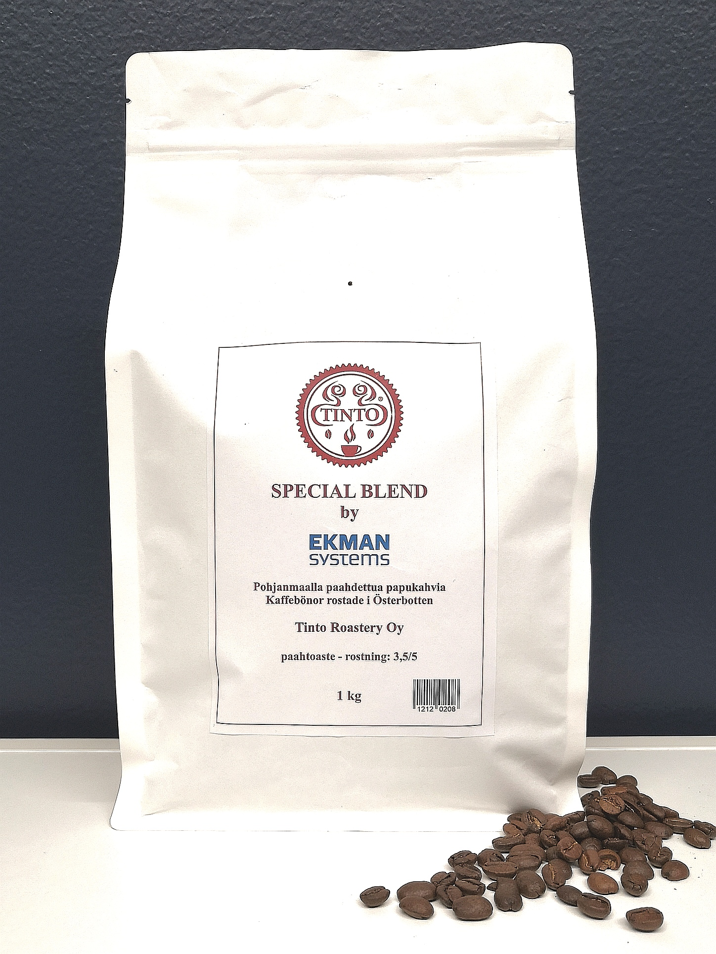 Tinto papu Special Blend by Ekman Systems 1kg/pss, 3kg/ltk