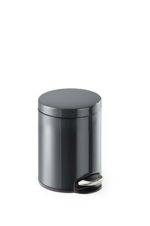 Metallinen poljinroskakori 5 L