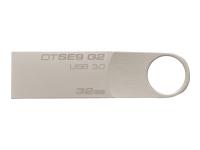 Kingston 32GB muistitikku USB 3.0, DTSE9G2/32GB
