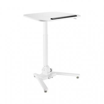 GetUpDesk One säädettävä pöytä, valkoinen