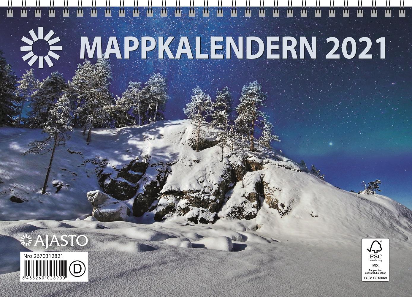 Mappkalendern 2021
