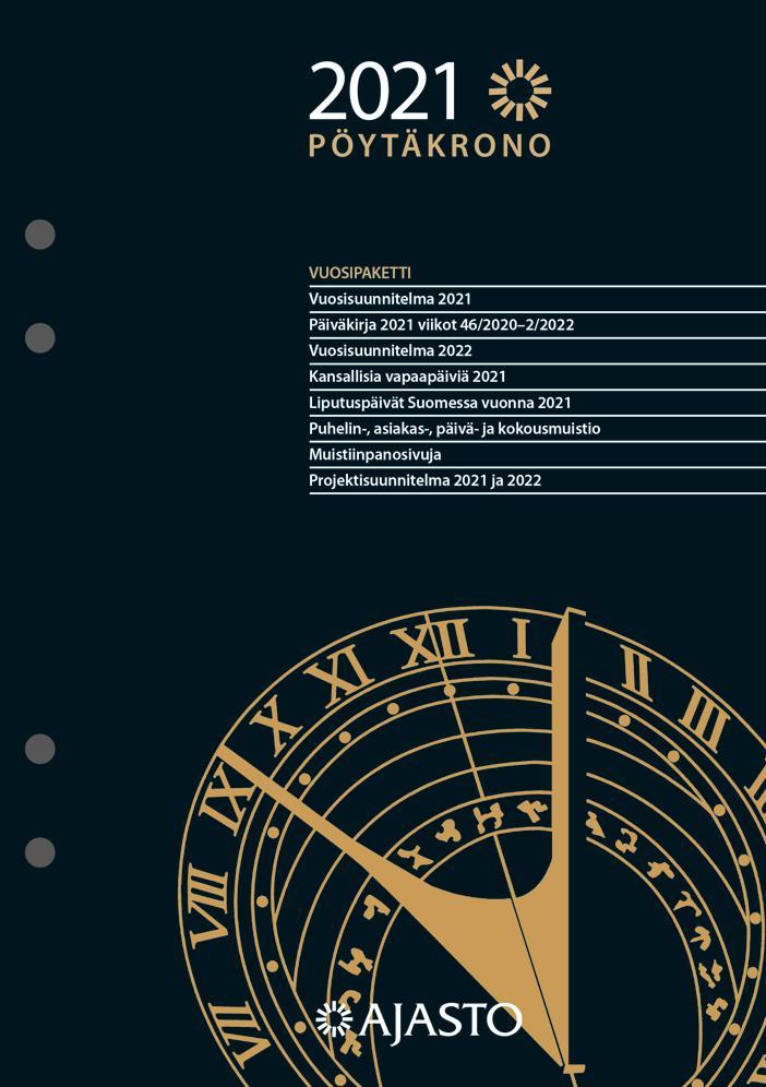Pöytäkrono-vuosipaketti 2021