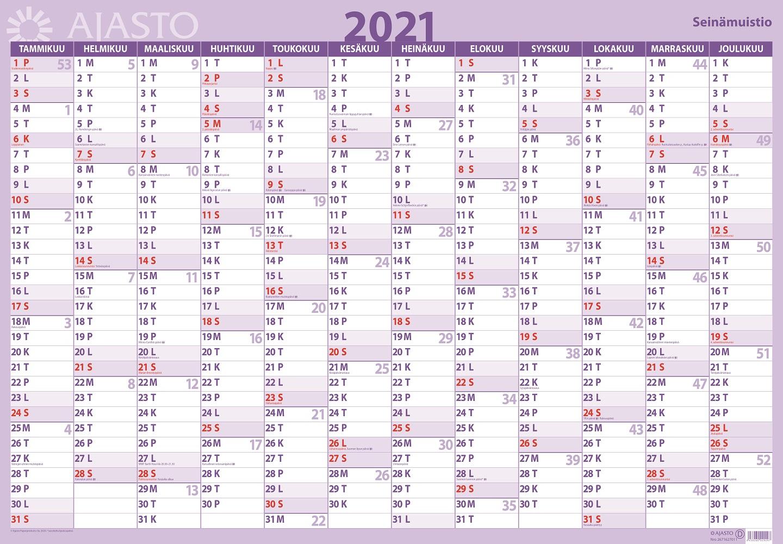 Seinämuistio 2021