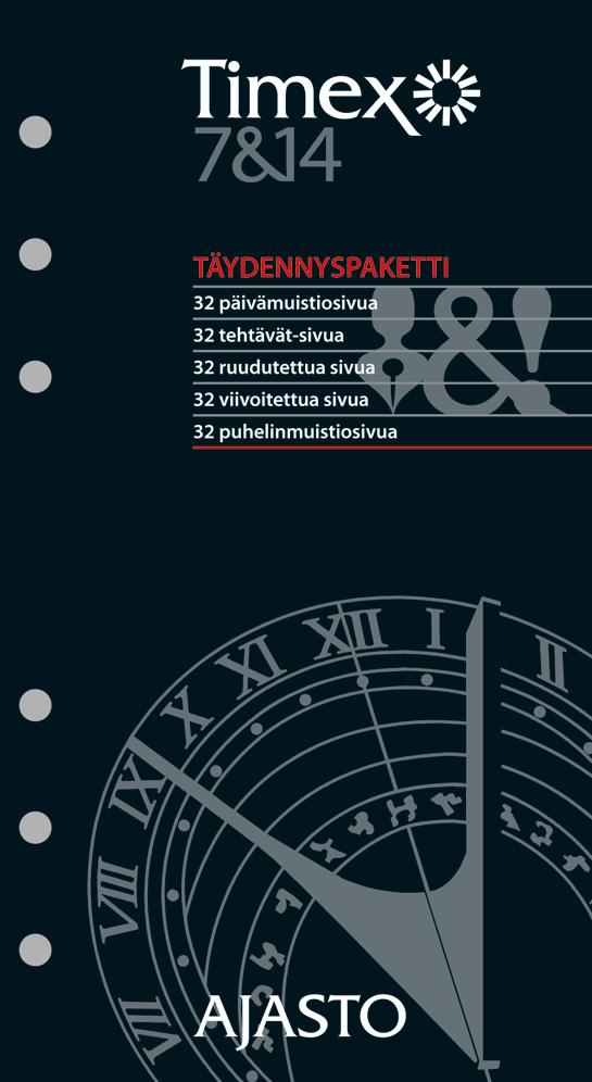 Timex 7 ja 14 -täydennyspaketti 2021