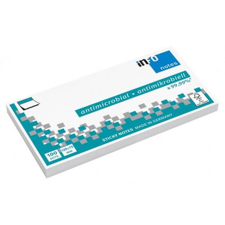 Viestilappu inFO Hygienic 125 x 75 mm valkoinen