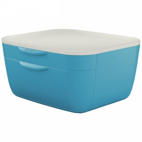 Leitz Cosy 2-ltk vetolaatikosto sininen