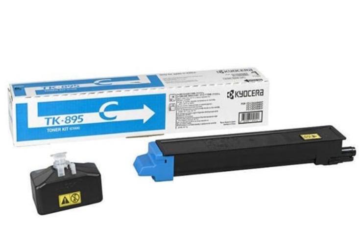 Kyocera TK-895C FS-C8020MFP cyan toner 6K