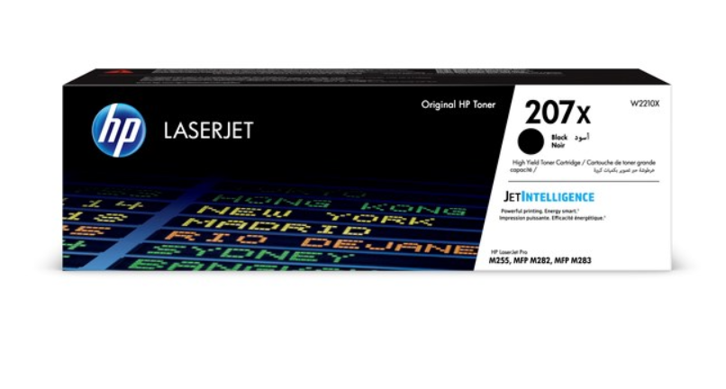 HP 207X Black LaserJet Toner Cartridge