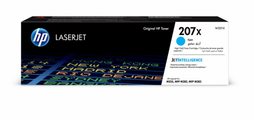 HP 207X Cyan LaserJet Toner Cartridge