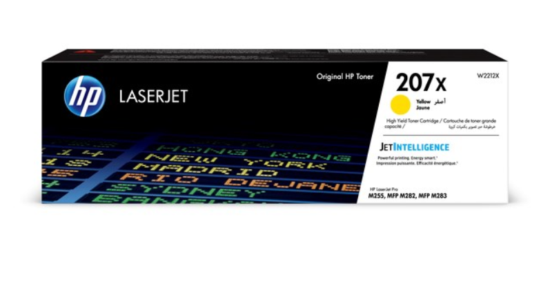 HP 207X Yellow LaserJet Toner Cartridge