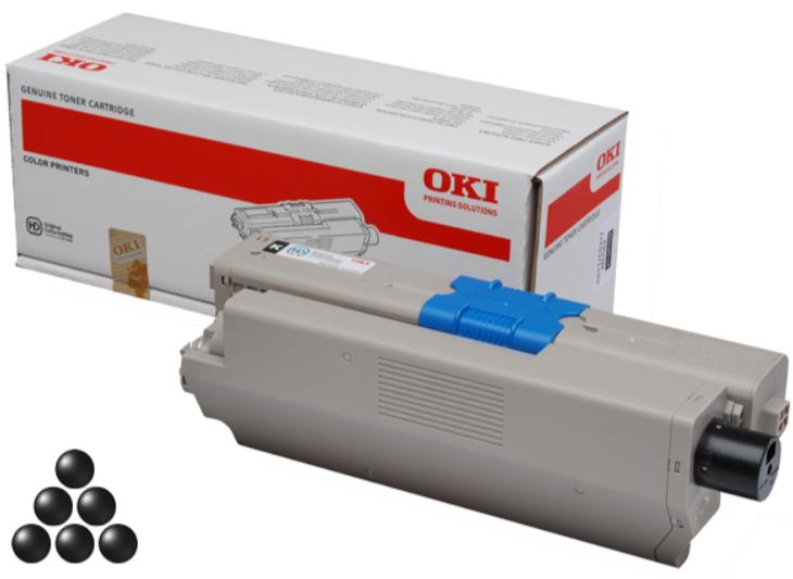 OKI C332/MC363 toner black 3.5K