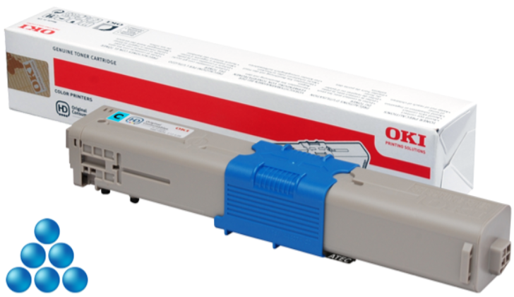 OKI C332/MC363 toner cyan 3K