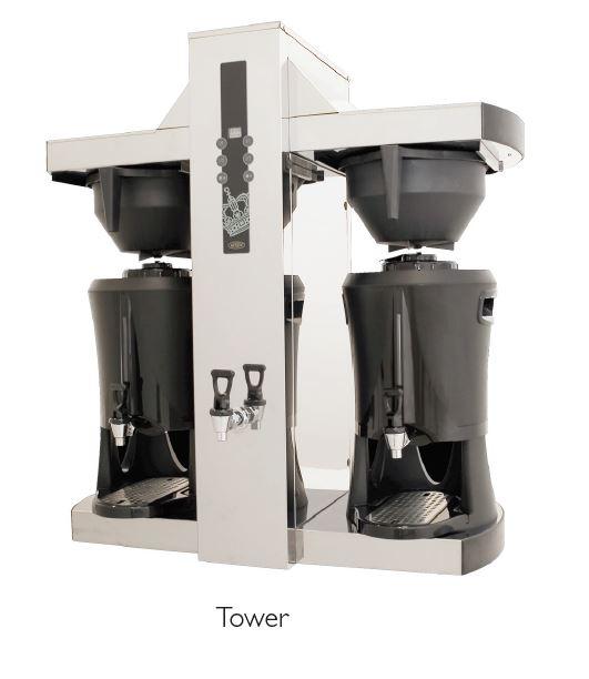 Kahvinkeitin TOWER sis. 2x5 L Säiliö termosta (3-vaihe)