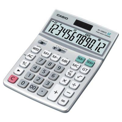 Casio DF-120ECO 126472 Pöytälaskin, 12 numeron näyttö