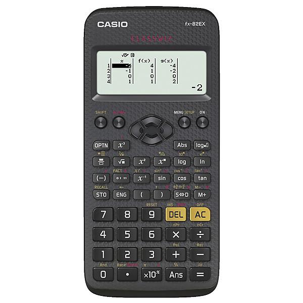 Casio FX-82EX ClassWiz, musta, 141860