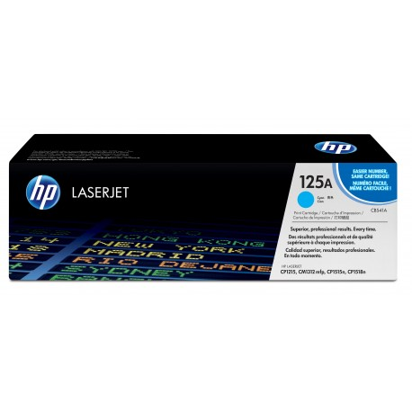 CB541A Cyan, HP Color LaserJet CM1312 MFP, CM1312nfi MFP, CP1215, CP1515n, CP1518ni