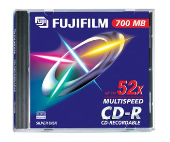 Cd-R 700MB Fujifilm FUJ27132 / 47384