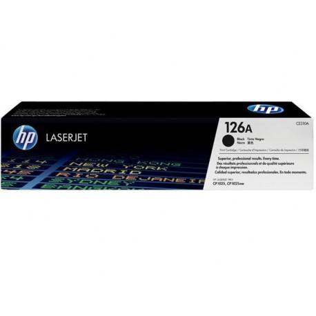 CE310A Black, HP Color LaserJet Pro CP1025; LaserJet Pro MFP M175; TopShot LaserJet Pro M275