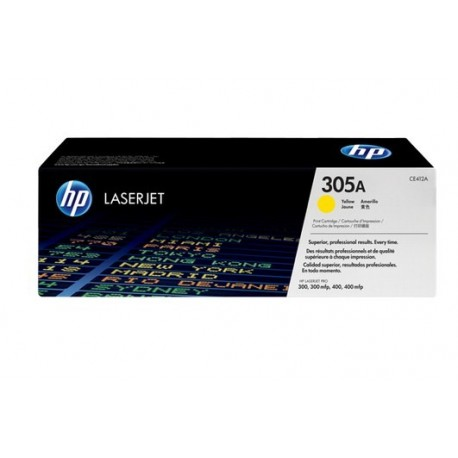 CE412A Yellow, HP LaserJet Pro 300 color M351a, 300 color MFP M375nw, 400 color M451, 400 color MFP M475