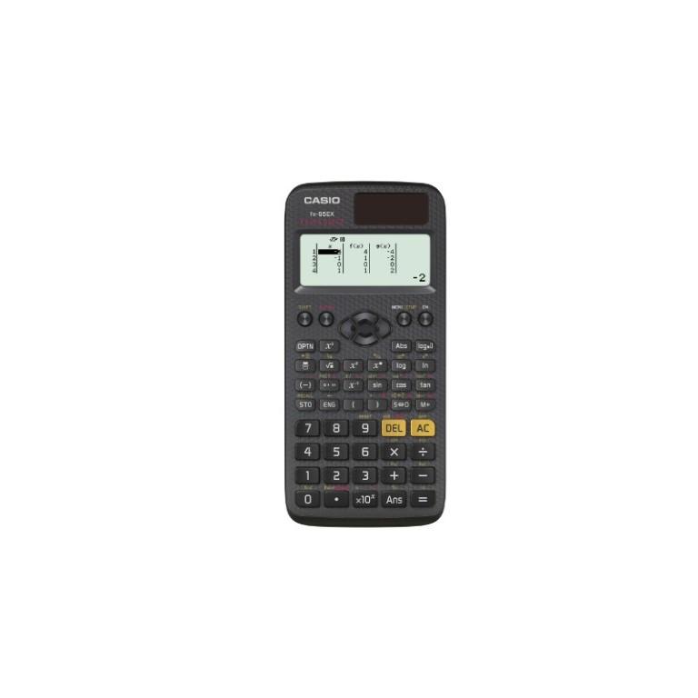 Casio FX-85EX 141865 / 274 toimintoa