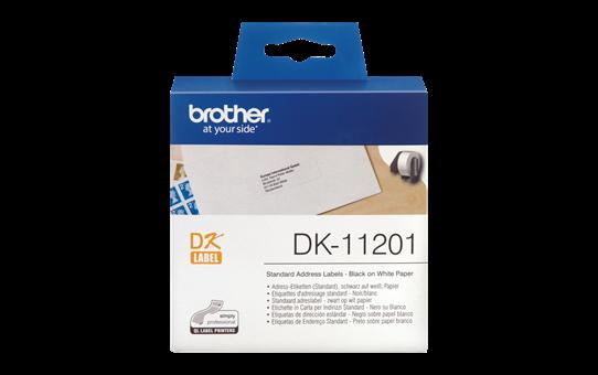 Brother DK11201 etiketti, kork. 29mm x lev. 90mm
