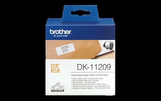 DK11209 pieni osoitetarra
