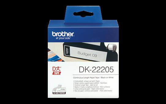 DK22205 Continuous length paper / 62mmx30,48m