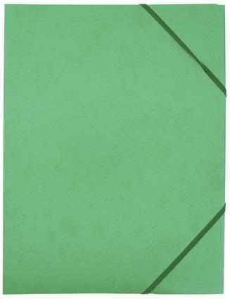 Kulmalukkokansio läpillä 108K Vihreä / 50143