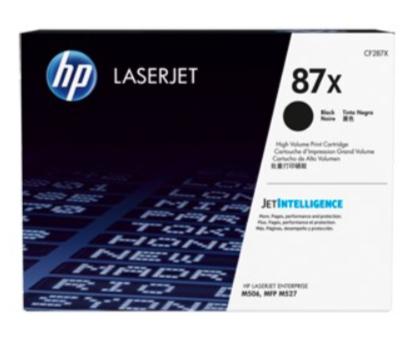 HP LJ M506/MFPM527 black CF287X / 18000 sivua