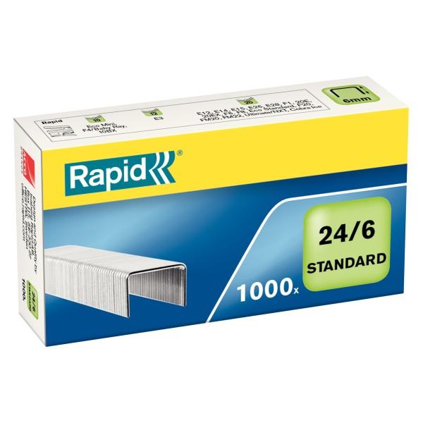Rapid 24/6 standard Nasta 1000/ras/ 24855600