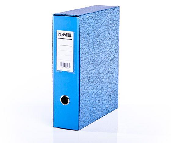 Kansio-Mercantil A4 Sininen 2MAKT  20 kpl/ltk