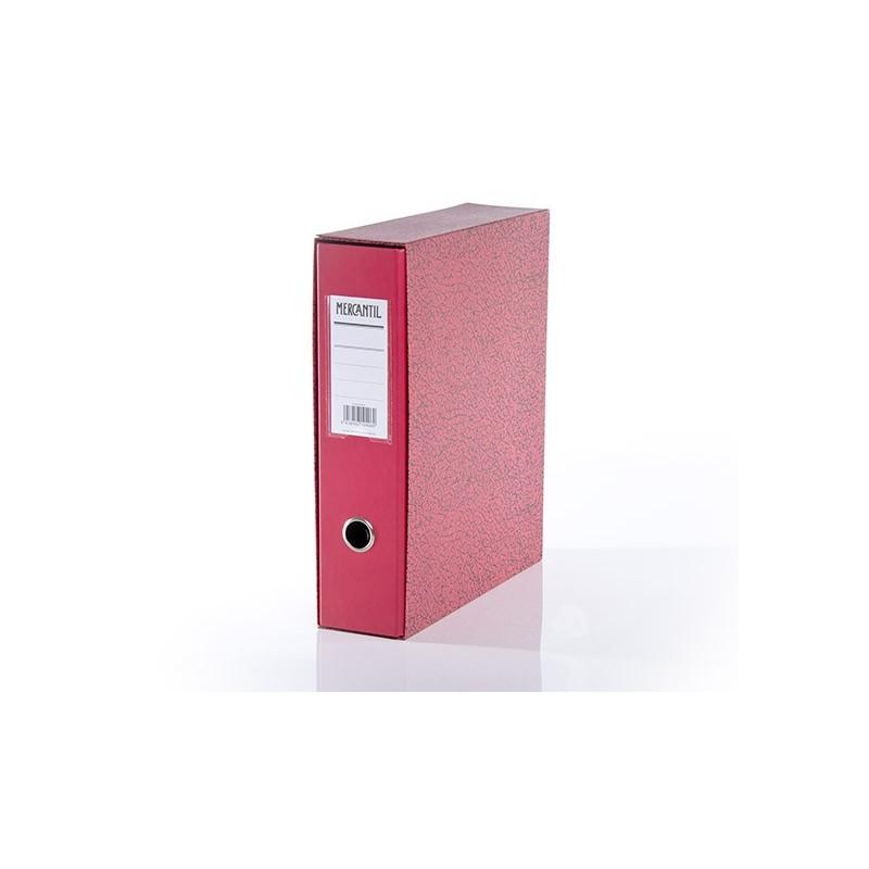 Kansio-Mercantile A4 pun etikettitaskulla 92505 20 kpl/ltk