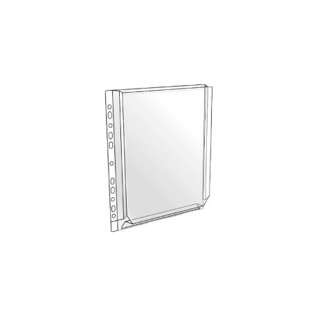 Kansiopaljetasku A4 kirkas 24201,10kpl/pss