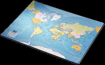 Kirjoitusalusta Maailmankartta 32184