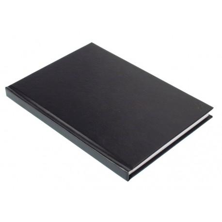 Ruutukirja A4, 192 sivua 7x7 mm ruudut, kovakantinen, lankasidottu, musta