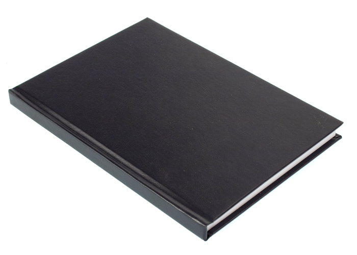 Konttorikirja, numeroidut sivut A4, 192 sivua