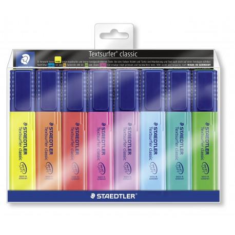 Korostuskynä Textsurfer Classic 8 väriä 364WP8