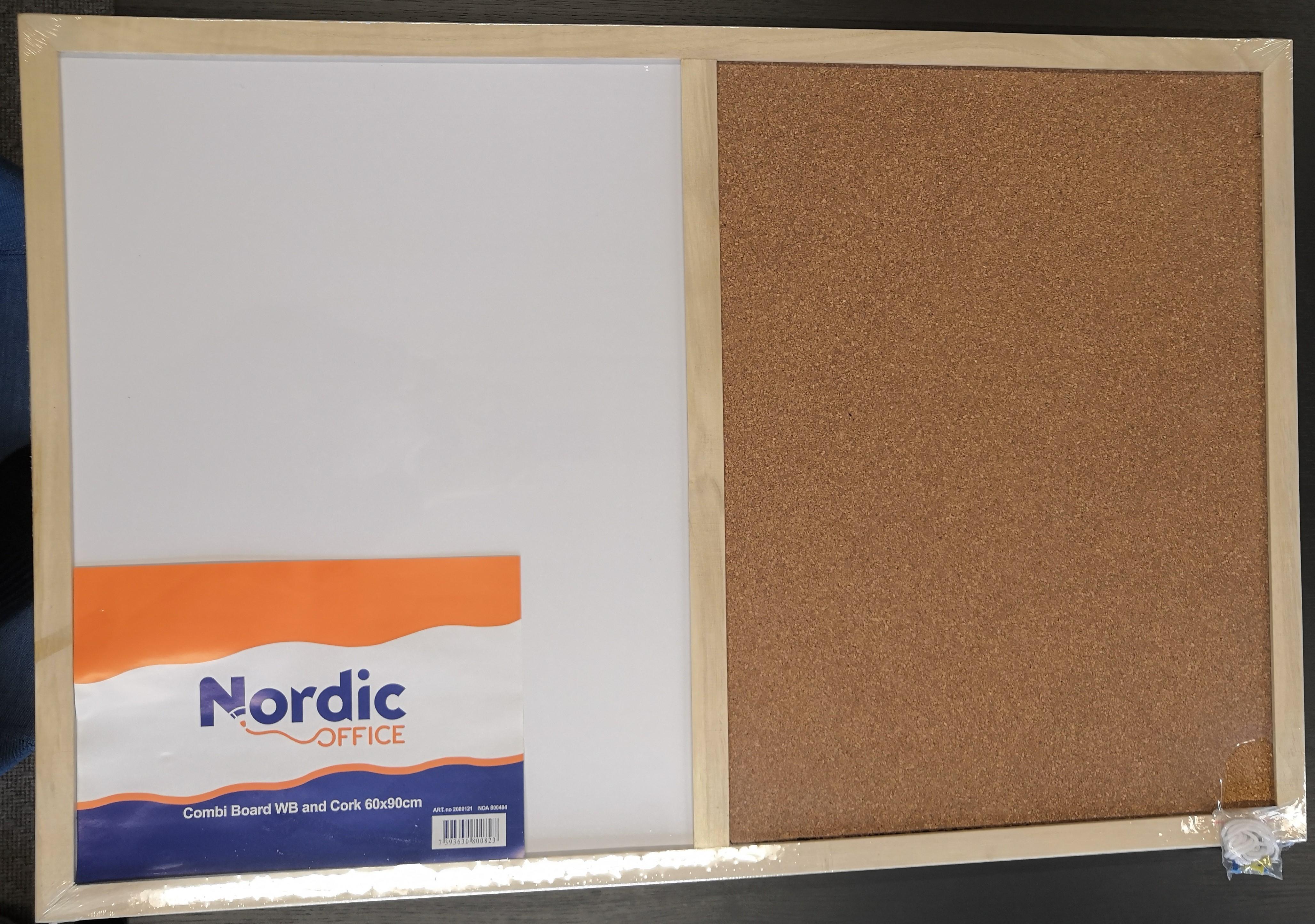 Korkki- / valkotaulu NO 600x900 mm 2080121