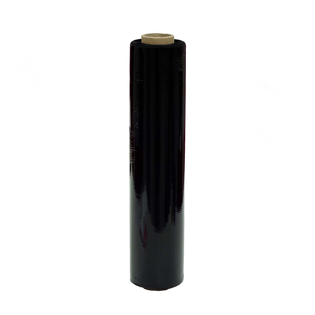 Käsikiristekalvo musta 450mm x 300 m / 750205 ,6kpl/ltk