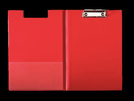 Käsikirjoitusalusta Clipboard A4 Punainen 56043 Kannella