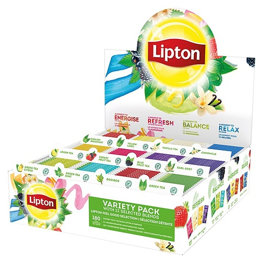 Lipton tee kahvilapakkaus 12x15 ps, 117298