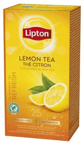 Lipton tee sitruuna 25ps/ras