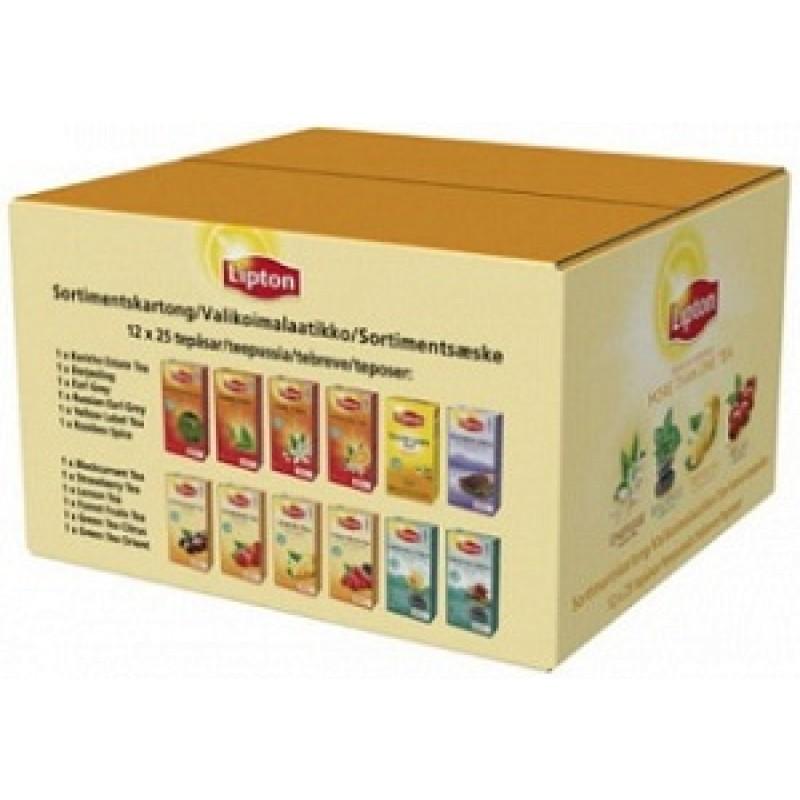 Lipton Tee valikoima 12x25pss/ltk, 62599