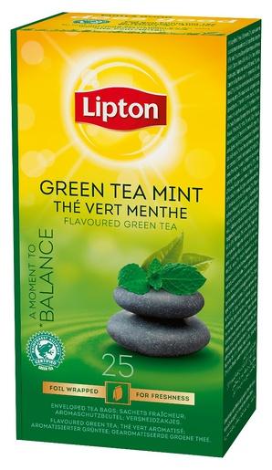 Lipton Tee vihreä/minttu, 25ps/ras