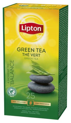 Lipton vihreä tee 25 ps 6 ras/ltk
