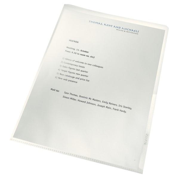Muovitasku Recycle 140my A4 kirkas 4001-10-03